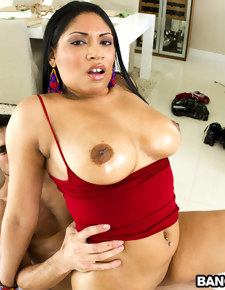 Luscious Oily Titties with Carmen Michaels