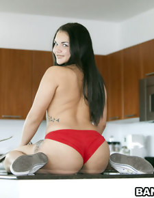 Violet Vasquez for an big ass romping. This chick has fucking insane fat ass and is quite the screamer!
